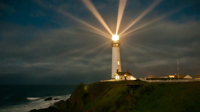 Time-lapse of Pigeon Point Lighting on 11/11/11 from the SE. 24fps. 10 seconds.