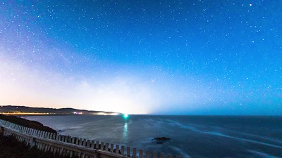 Pigeon Point nightscape 2020 June 17th