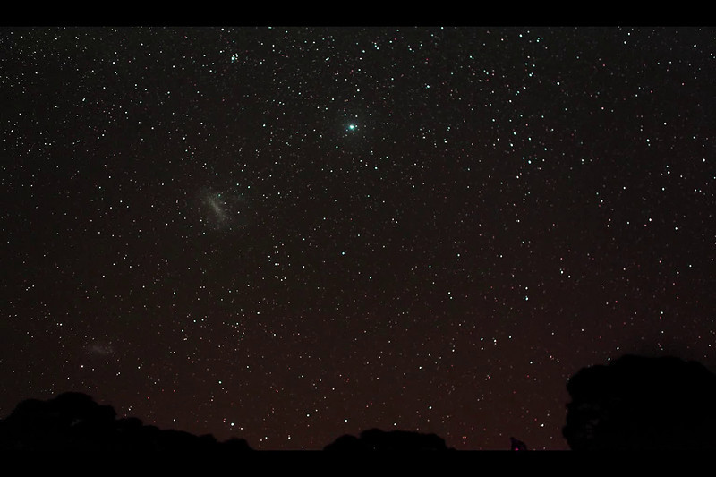 Taken at the South Pacific Star Party (Australia) on a Canon 5D Mk2. Movement on an EQ3 mount controlled by Freds homemade Timemachine (2 axis programable motor driver and exposure timer).