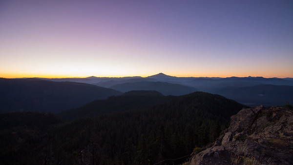 Mount Jefferson Sunrise