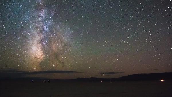 Milky Way Galaxy Over The Alvord Playa