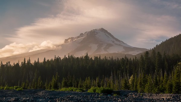 Mount Hood at Golden Hour