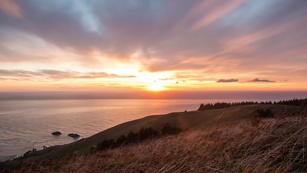 Sunset on Cascade Head