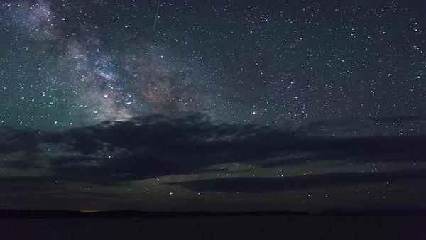 Milkyway in the Alvord Desert