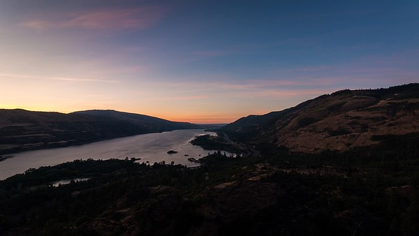 Columbia River Gorge Sunrise