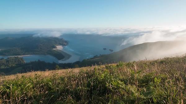 Fog Over Cascade Head