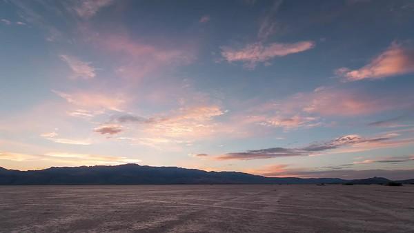 Sunset on the Alvord Desert Playa
