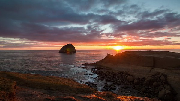 Cape Kiwanda at Sunset