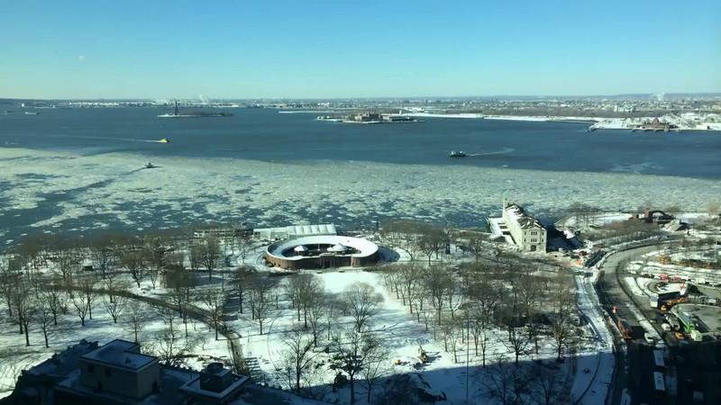 Frozen Hudson