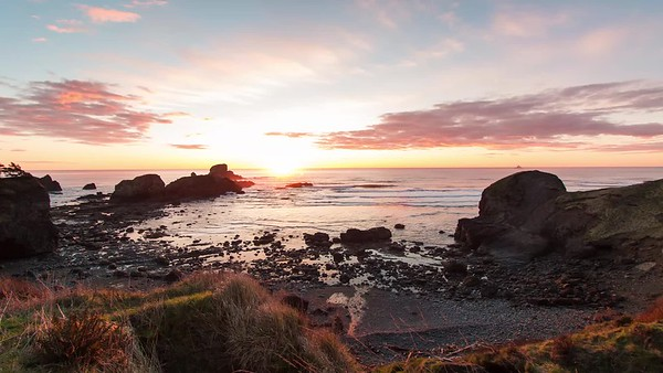 Ecola State Park Sunset
