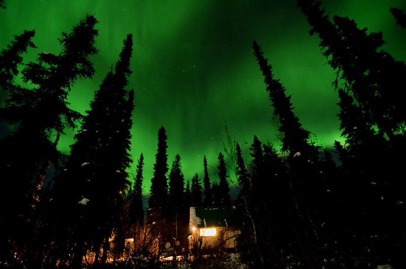 Aurora over our Home!