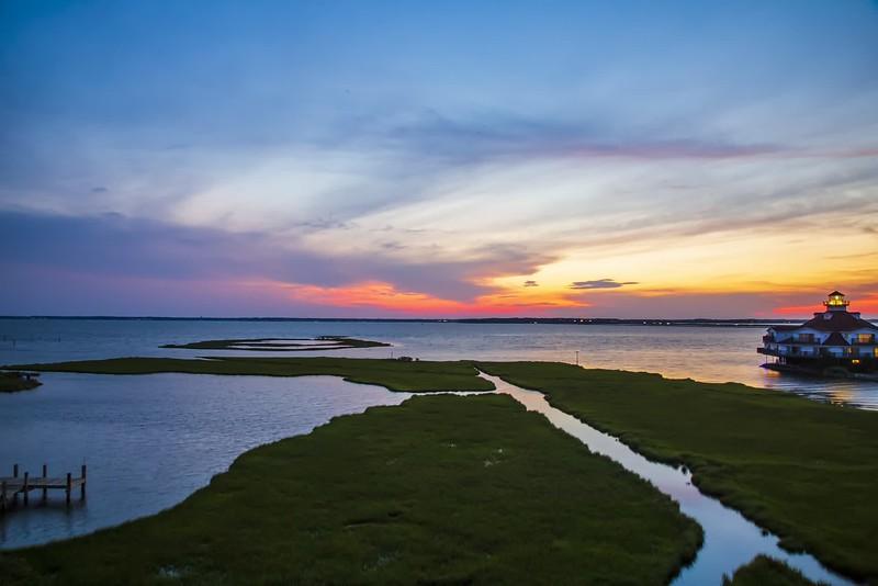 Ocean City Bay Sunset Timelapse