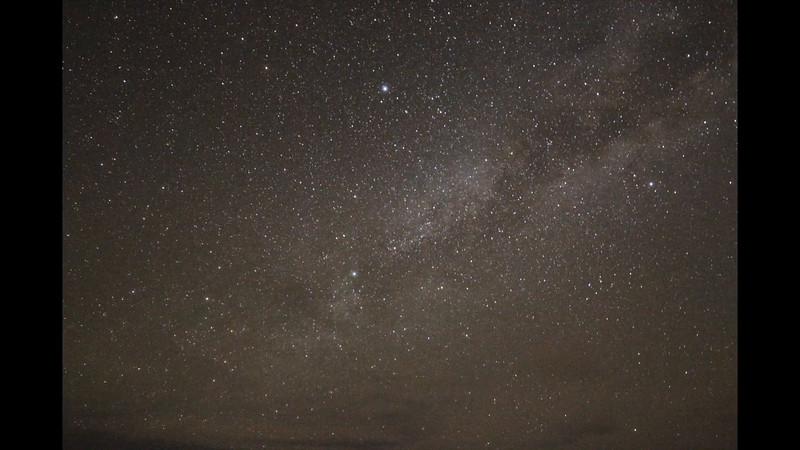Milky Way Moonrise- 60 fps