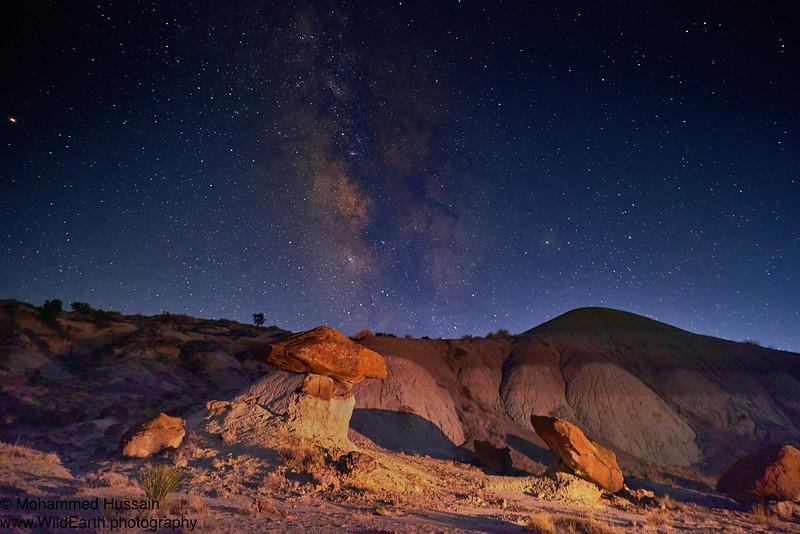 Bisti/De-Na-Zin Wilderness, NM.