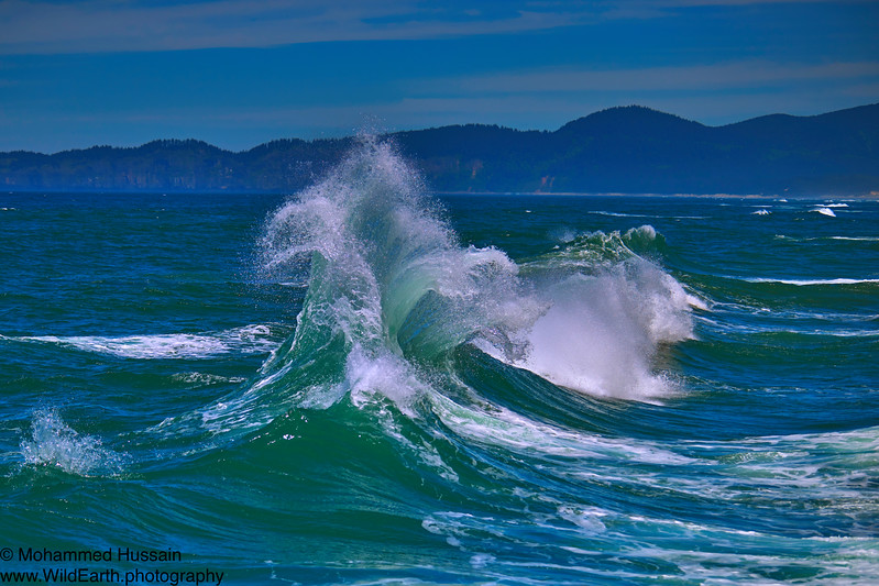 Ocean Wave, Cape Kiwanda, Pacific City, OR