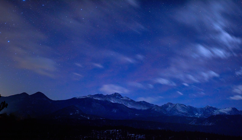 Night Sky Over Rocky Mountain National Park, CO