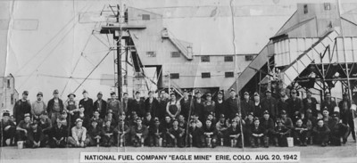 Eagle Mine and Crew, Erie, Colorado