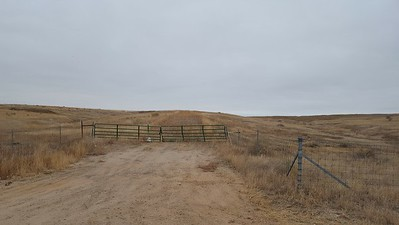 Gate from 120th Street to  to Fenced Off Liley Mine Area