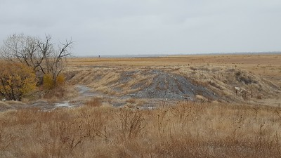 Main Shaft and Tailings in Liley Mine Area