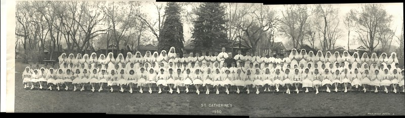 St. Catherine's First Communion Class 1950