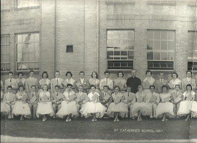 St. Catherine's Graduation Photo: Class of 1957