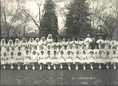 St. Catherine's First Communion Class