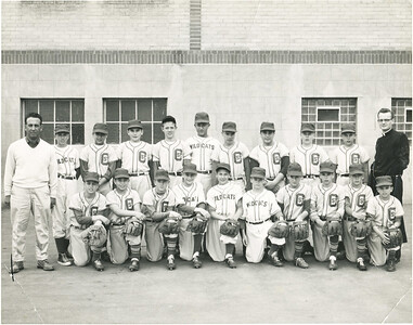 St. Catherine's Baseball Wildcats  1957