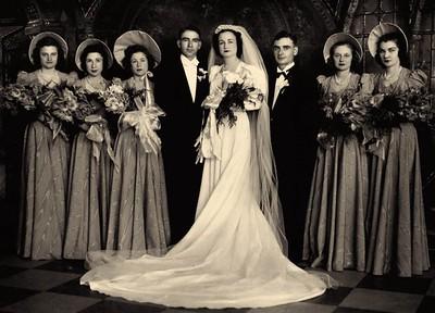 Edith Proietti and Frank Domenico Wedding