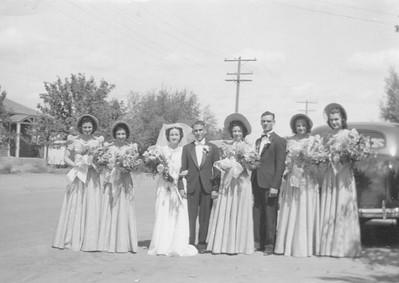 Frank Domenico and Edith Proietti Wedding