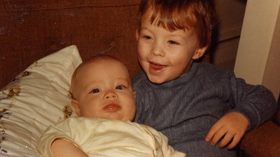 Baby Anna and Danny