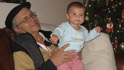 Papa Ben and Silly Mia