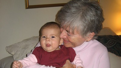 Mia with Granny Franny GoGo