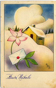 Christmas Postcard From Castiglione