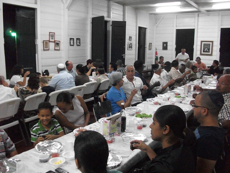 Passover in Suriname, 2008.
