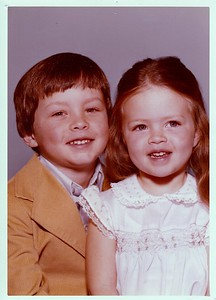 Danny and Anna Portrait 1978
