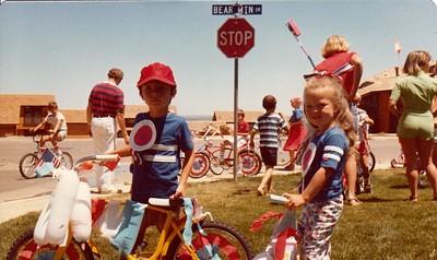 Danny and Anna at Devil's Thumb July 4 Parade 1978