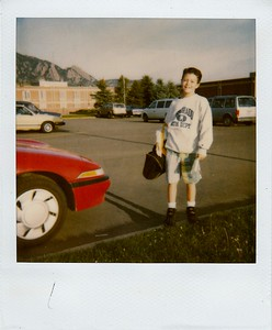 Johnny: first day of school at Southern Hills -- 6th grade