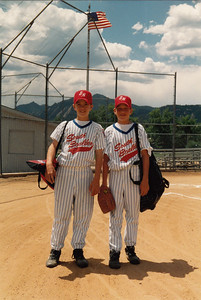 Johnny and Nick Hotard, little league all stars