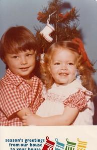 Danny and Anna Christmas 1976