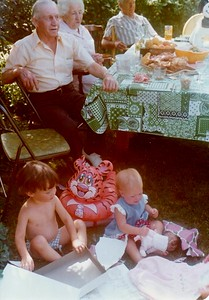Anna's First Birthday Party 1975