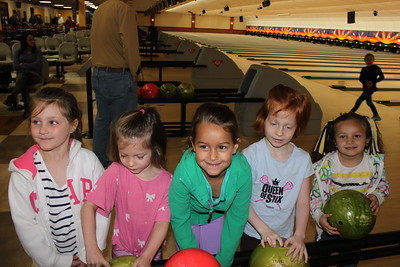 Kindergarten End of Year Bowling Party