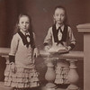 1877 Mary and Flossie Clark