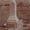 1892 gravestone of Clementina Marian Morrison Ericksen, Mt.