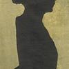 1868 Margaret Farquhar Cruikshank silhouette, 18 years old