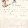 1884 11Nov 26, invitation to Ferdinand Ericksen from