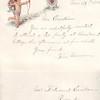 1884 11Nov 26, invitation to Ferdinand Ericksen from