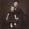 1880 Aunt Butter and Harry S, Mina Cruikshank and son
