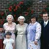 Tanya, Kristina (front), Grandma Rowena, Aunt Marian, Mom, Dad