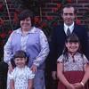 Mom and Dad (back), Kristina and Tanya (front)