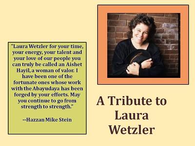 Wetzler Tribute 2011